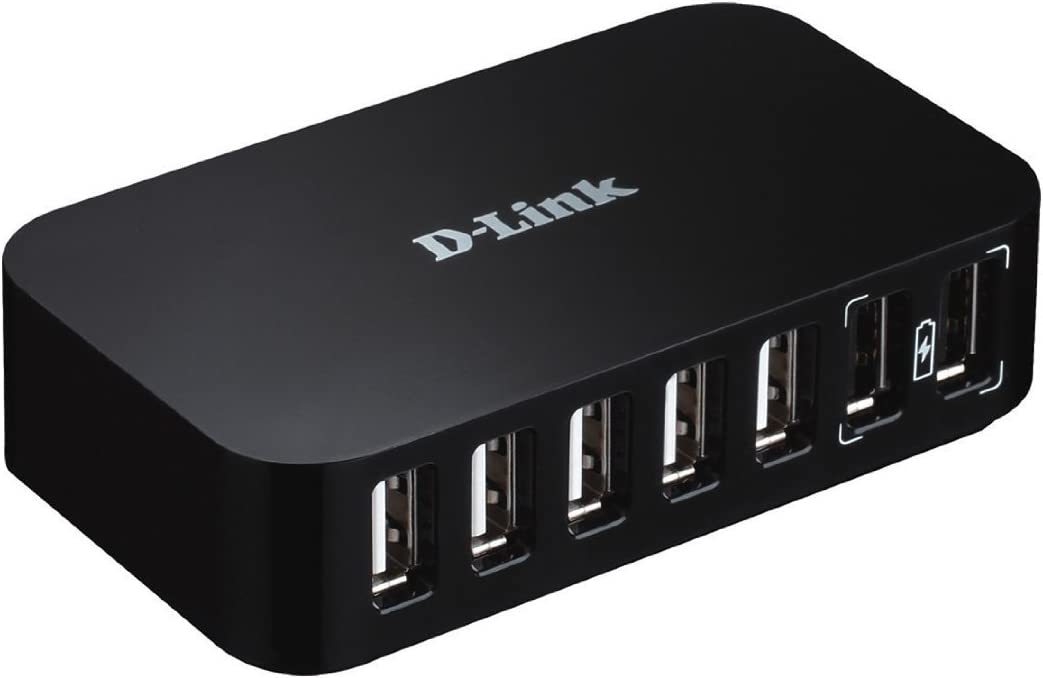 D-Link DUB-H7 USB 2.0 7-port Hub