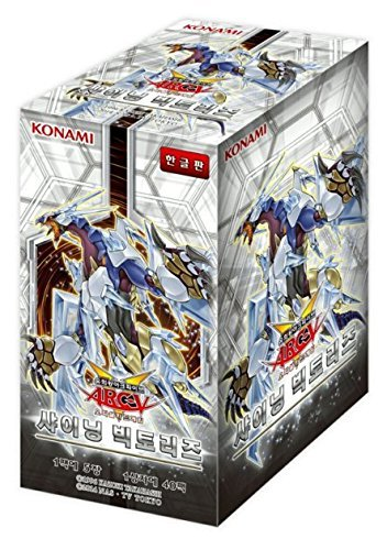 Yugioh Cards Shining Victories Booster Box / Korean Ver / 40 Booster Pack