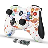 Wireless Gaming Controller, EasySMX PC Game Controller Joystick with Dual-Vibration Turbo and Trigger Buttons for Windows/Android/ PS3/ TV Box