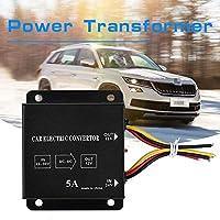 電源トランス、電圧低減装置、トラック電力低減装置、24V〜12V自動ステレオ電気コンバーター、車用DC(24V to 12v/5A/60W)