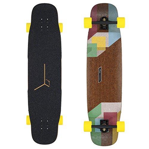 Loaded Tesseract Premium Complete Longboard Skateboard W/ Caliber Trucks, Orangatang Wheels by Loaded