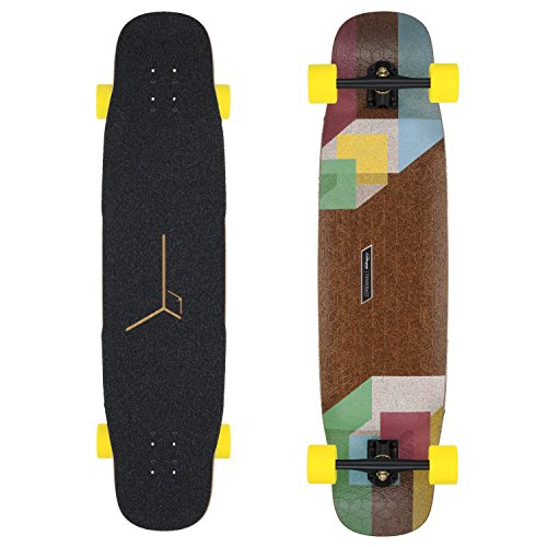 Loaded Tesseract Premium Complete Longboard Skateboard W/ Caliber Trucks, Orangatang Wheels by Loaded