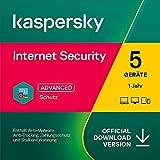 Kaspersky Internet Security 2021 | 5 Geräte | 1 Jahr | Windows/Mac/Android | Aktivierungscode per...