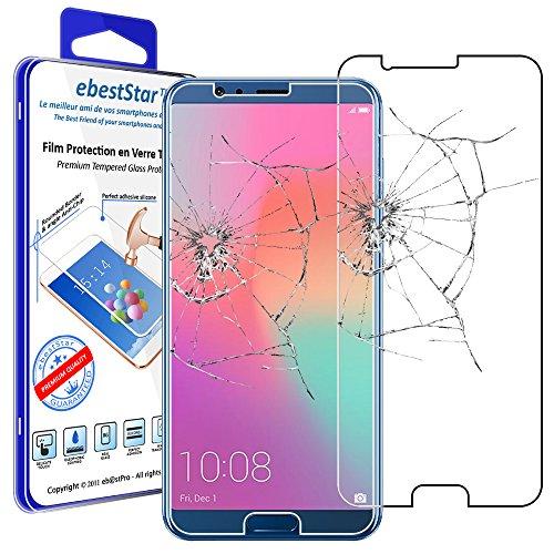 ebestStar - Cristal Templado Compatible con Huawei Honor View 10 Protector de...