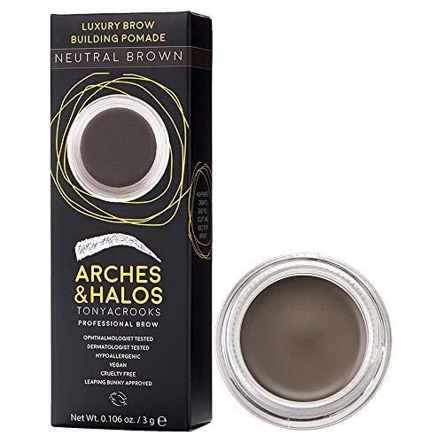 Arches and Halos Luxus Brauenbau-Pomade in neutralem Braun, 2,8 g