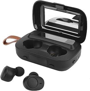 Socobeta Auricolari Bluetooth 5.0 Wireless Sport con LED a Specchio(M13)