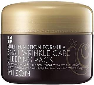 MIZON Snail wrinkle care sleeping pack (並行輸入品)