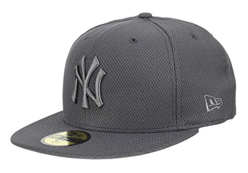 New Era Diamond Era 59Fifty Cap NY Yankees Dunkelgrau, Size:7