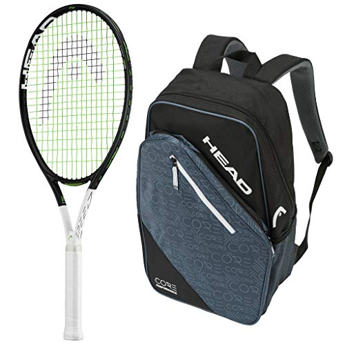 HEAD 2019 Speed IG 26 Junior Tennis Racquet - Strung with Backpack