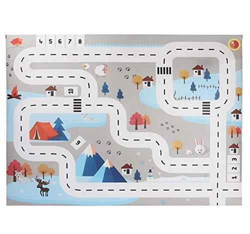 alfombra infantil carretera fabricante Vertily