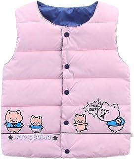 Kinder Baby M/ädchen Junge Sleeveless Mantel Tier Druck Warme Jacken Weste Oberteile Huhu833 Baby Weste