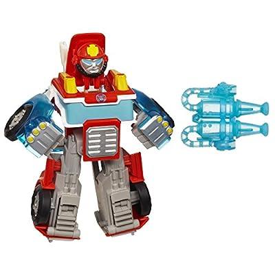 Playskool Heroes Transformers Rescue Bots Energize Heatwave the Fire-Bot Figure from Playskool