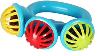 Anniston Kids Toys, 1Pc Colorful Hand Shaking Rattle Bell Baby Developmental Musical Toy Xmas Gift Baby Toys Perfect Fun T...