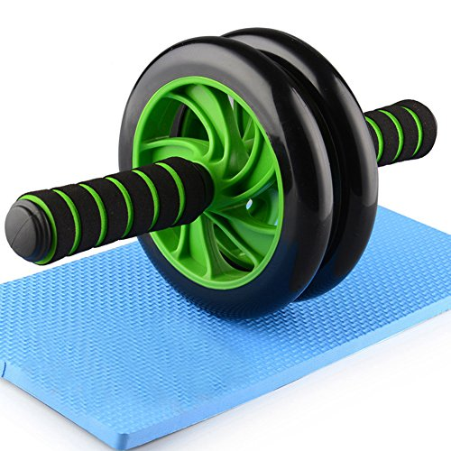 HXT Abdominal Roller AB Wheel Abdominal trainer abdominal scooter with knee pad mat Abdominal trainer Exercises abdominal, muscular and back muscles