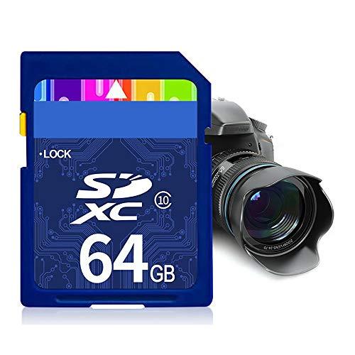 SD-kaart, Klasse 10 Hoge Snelheid Waterdichte Digitale Camera Geheugenkaart Tot 94 MB/S Snelle Transfer En 4K UHD voor Dash Cam/Camera
