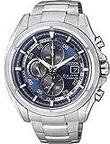 CITIZEN CA0550-52M. Reloj de SuperTitanio, ecológico ya que no necesita cambios de pila: Funciona con la energía del sol.