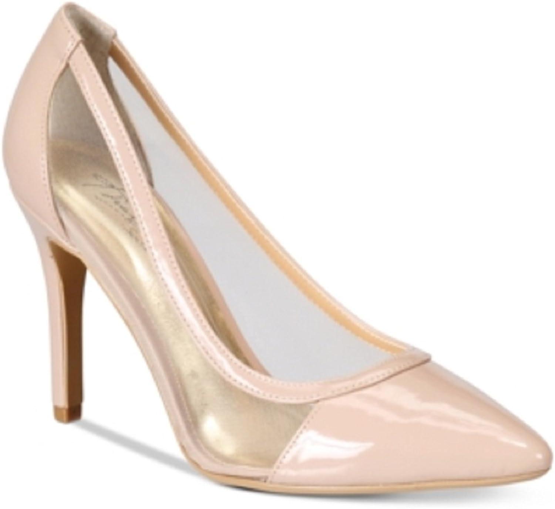 Thalia Sodi Womens Natalia Pointed Toe Classic Pumps shoes Nude Size 12 M US