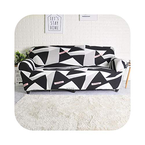 shop 1994 2021 Sofa Covers Stripes Printed for Living Room Elastic Stretch Slipcover Sectional Corner Couch Covers 1/2/3/4-seater-Color 7-4-seater 235-300cm