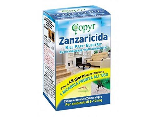 RICARICA Insetticida liquido per elettroemanatore contro zanzare KILL PAFF COPYR 1pz