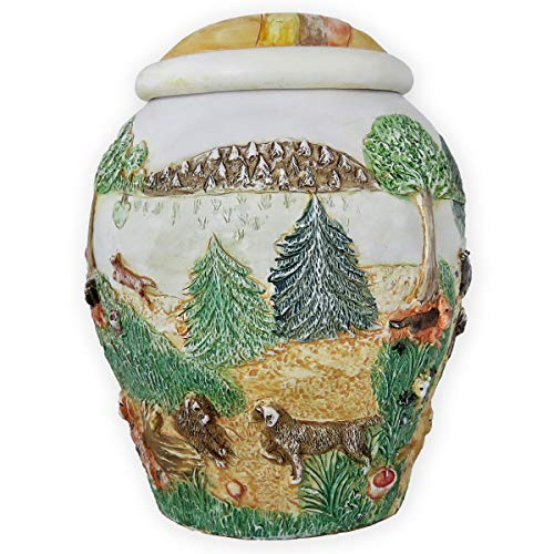 Beautiful Life Urns Heaven's Happy Meadow Large Dog Urn