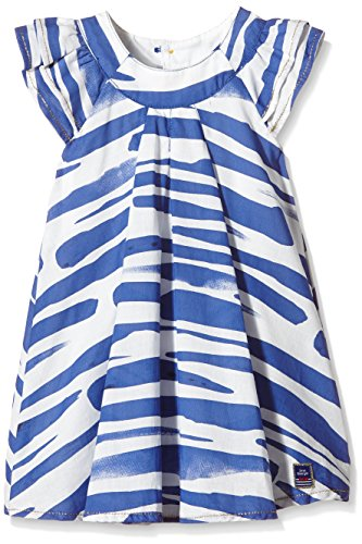 Jean Bourget Tiny Casual Chic Robe, Bleu, FR: 24 Mois (Taille Fabricant: 2 Ans) Bébé Fille
