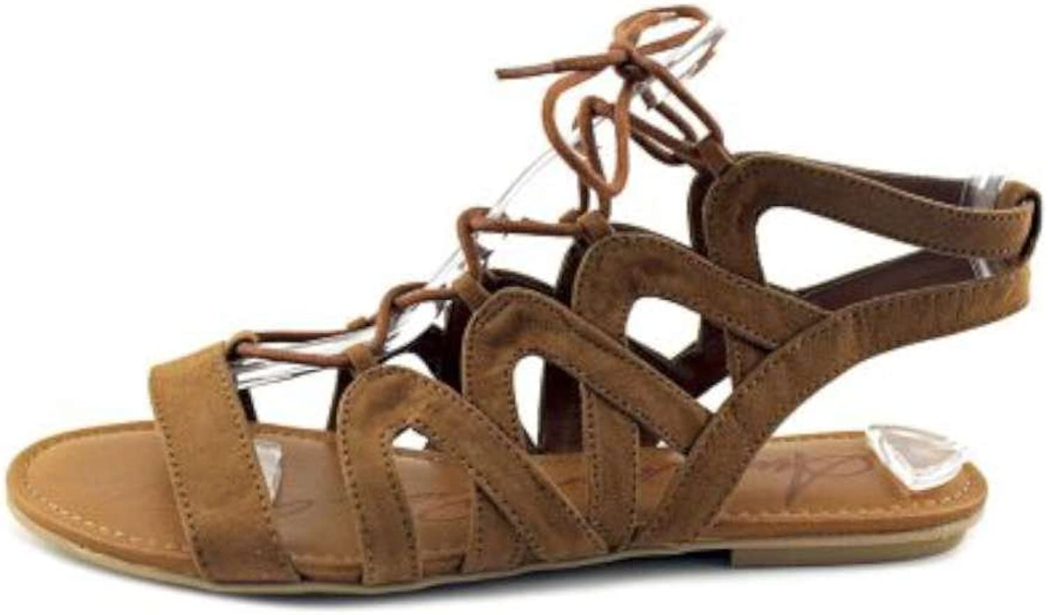 American Rag Womens Marlie Open Toe Casual Gladiator Sandals, Maple, Size 6.5