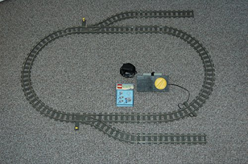 Gebrauchte Bausteine Lego 9V Eisenbahn Train 4520 4515 4531 Schienen Set Trafo Tracks D