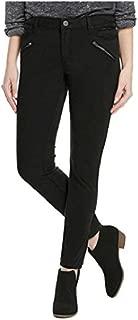 Ladies' Moto Skinny Jean, Black