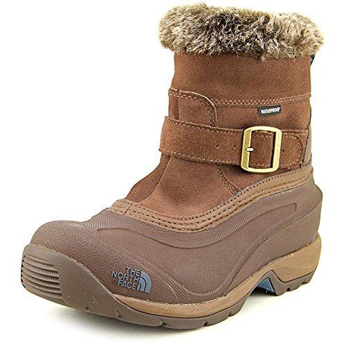 The North Face Chilkat III Pull-On Boot Womens Rain Drum Brown/Mediterranea Green 6.5