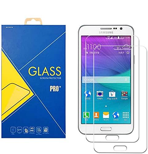 Glass Com 2Pack Protector Cristal Templado Samsung Galaxy Grand 3/G7200/g7202–Pantalla Antigolpes antiarañazos