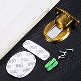 hohe Qualität Zinklegierung Boden Türstopper Selbstklebender,Bohren Door Stopper,Schutzpuffer...