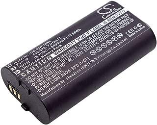 Cameron Sino 3.70V 6400mAh Dog Collar Battery Replacement Battery for SportDOG,650-970,V2HBATT,Fits SportDOG,TEK 2.0 GPS Handheld