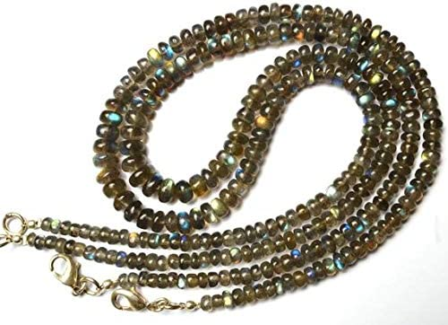 LKBEADS Courier shipping free shipping 1 Strand Natural Blue Fire to 4 Labrarite 7MM Smooth Ron Ranking TOP5