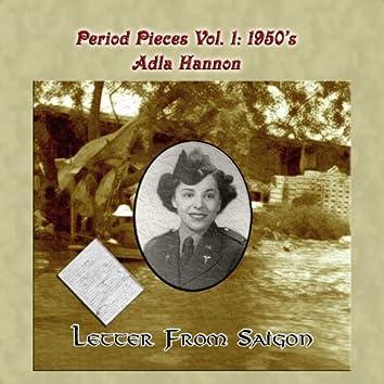 Period Pieces Vol. 1: Adla Hannon-1950's