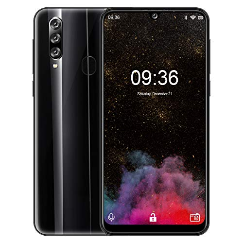 4G Dual SIM Mobile Phone,Padgene OALLE XS2 Smartphone Unlocked, 32GB 2GB, Android 9.0, 6.26 Inch Waterdrop Display, Triple Camera, OTG, GPS, Face Fingerprint Recognition