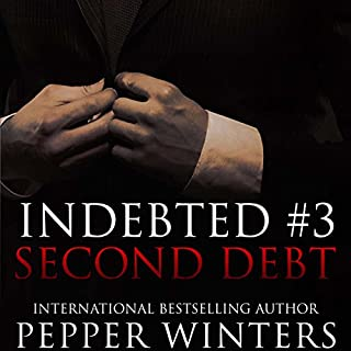 Second Debt     Indebted, Book 3              By:                                                                                                                                 Pepper Winters                               Narrated by:                                                                                                                                 Kylie C. Stewart,                                                                                        Will M. Watt                      Length: 7 hrs and 36 mins     280 ratings     Overall 4.7