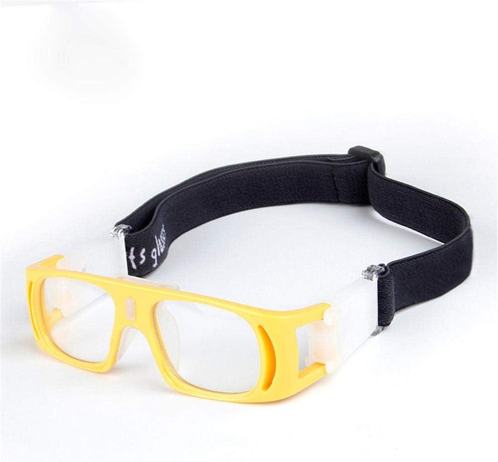 Uteruik Gafas Protectoras para Gafas de Baloncesto Gafas Protectoras para la Vista de fútbol para niños, Talla única (Estilo - E)