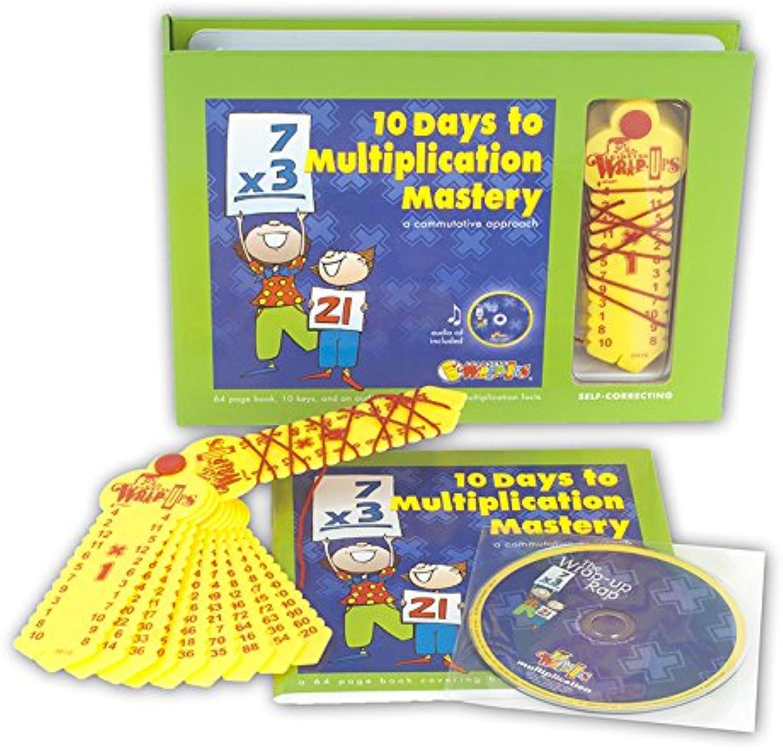 Learning Wrap-Ups LWUK703BA Ten Days To Multi Mastery Box Set Cd Workbook