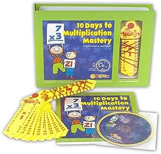 10 Days to Multiplication Mastery Boxed Set - Learning Wrap-ups