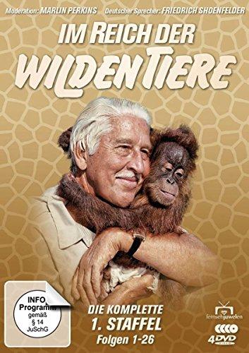 Im Reich der wilden Tiere - Die komplette 1. Staffel / Folgen 1-26 (Fernsehjuwelen) [4 DVDs]