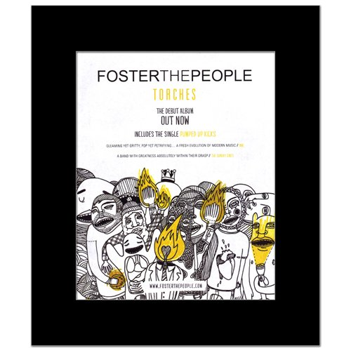 Music Ad World Mini-Poster, Motiv: Foster The People - Torches - The Debut Album, 31,8 x 28 cm