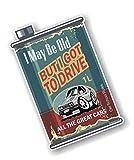sticker licker Koolart Retro Ölkanne I Drove All The Great Cars Design mit Retro Mk3 Capri GHIA...