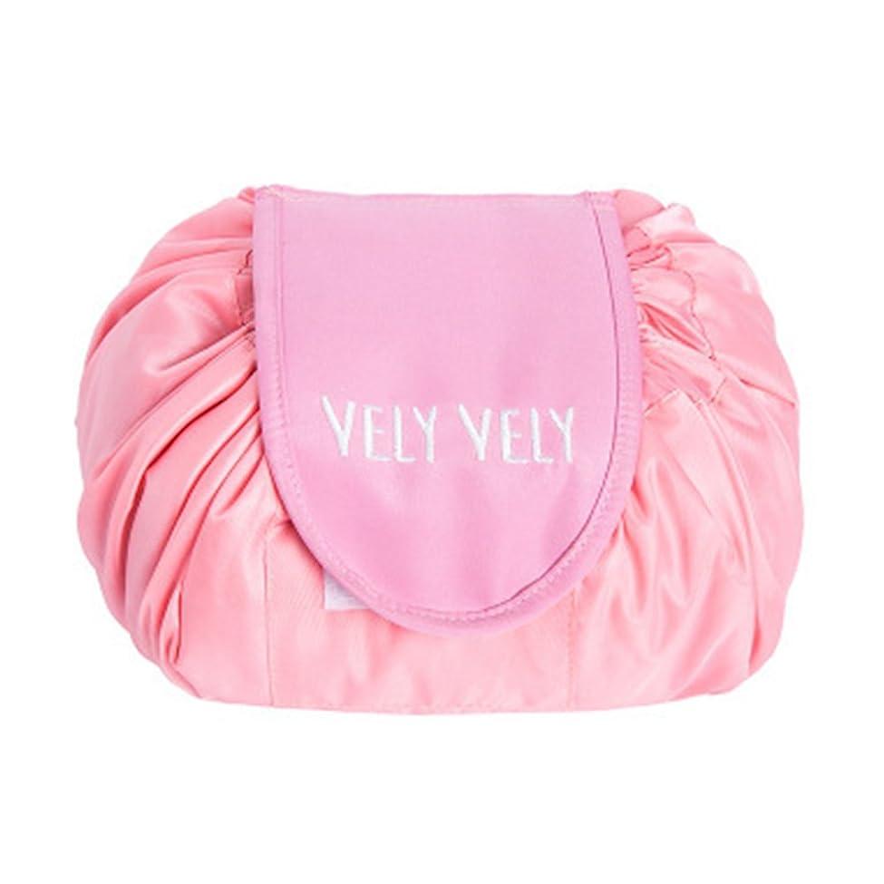 船乗りプレゼン頑固なLittleliving 旅行メイクバッグ 旅行化粧バッグ メイク収納バッグ 化粧ポーチ 大容量 巾着 マジックふろしきポーチ