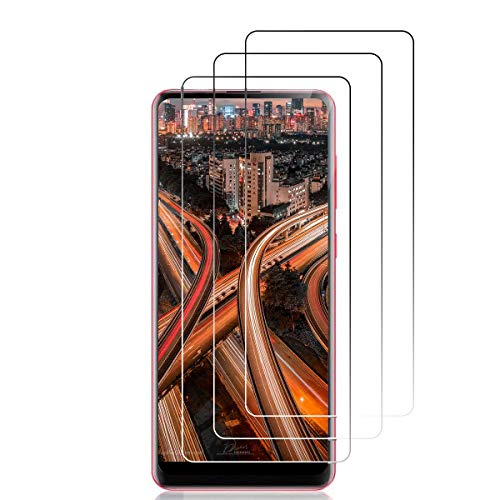 [3 unidades] Protector de pantalla de cristal templado para Samsung A21s [antiarañazos], [sin burbujas], [dureza 9H transparente] Protector de pantalla para Samsung Galaxy A21s