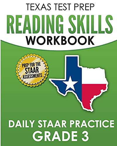Compare Textbook Prices for TEXAS TEST PREP Reading Skills Workbook Daily STAAR Practice Grade 3: Preparation for the STAAR Reading Tests  ISBN 9781725167919 by Hawas, T.