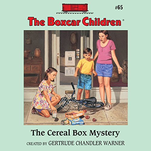The Cereal Box Mystery cover art