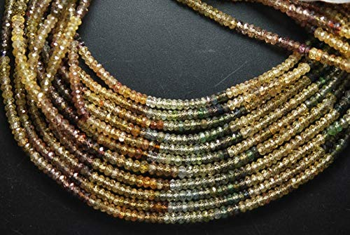 LOVEKUSH 50% zniżki na biżuterię z kamieniami szlachetnymi 3,5 mm cyrkonie oponki, rezerwowe 4 sznurki kod: RADE-3830