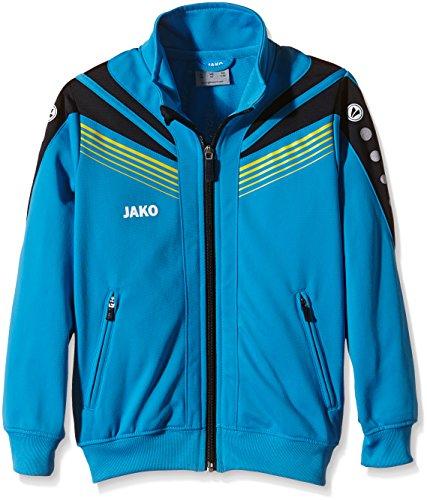 JAKO Kinder Jacke Pro, Blau/Marine/Citro, 140, 54864