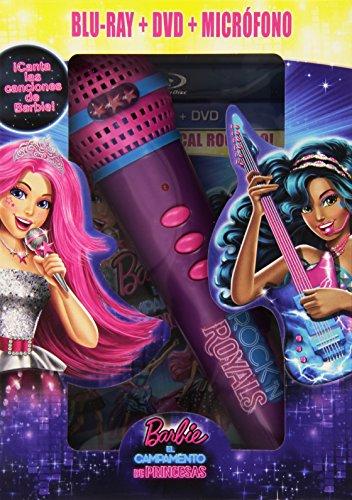 Barbie En El Campamento De Princesas (BD Combo + Micrófono) [Blu-ray]