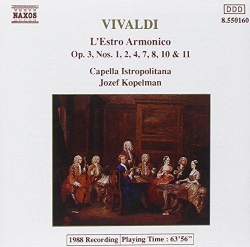 Vivaldi: L'Estro Armonico Concerti 1, 2, 4, 7, 8, 10 & 11 by unknown (1994-02-15)